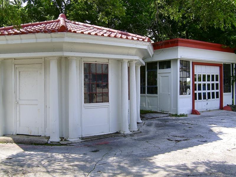 Union Metal Filling Station Restoration Project
